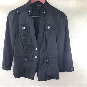 WHBM Little Black Blazer Jacket